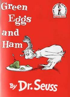 Доктор Сьюз - Зеленые Яйца и Ветчина