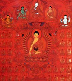 Шакьямуни Будда - Двойная сутра